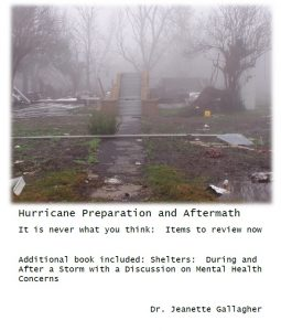 Hurricane Preparation Before and After by Dr. Jeanette Gallagher NMD